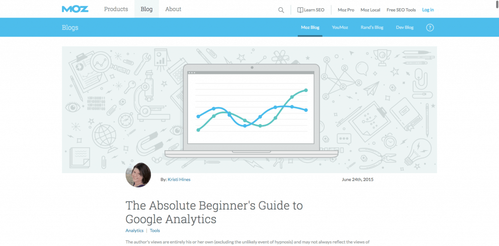 Moz Analytics posts