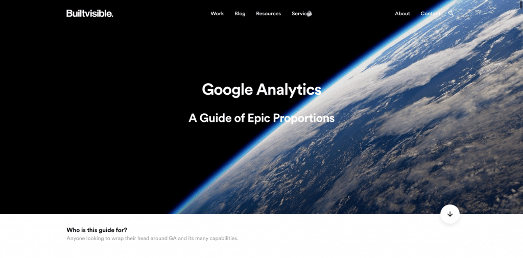 Builtvisible analytics guide