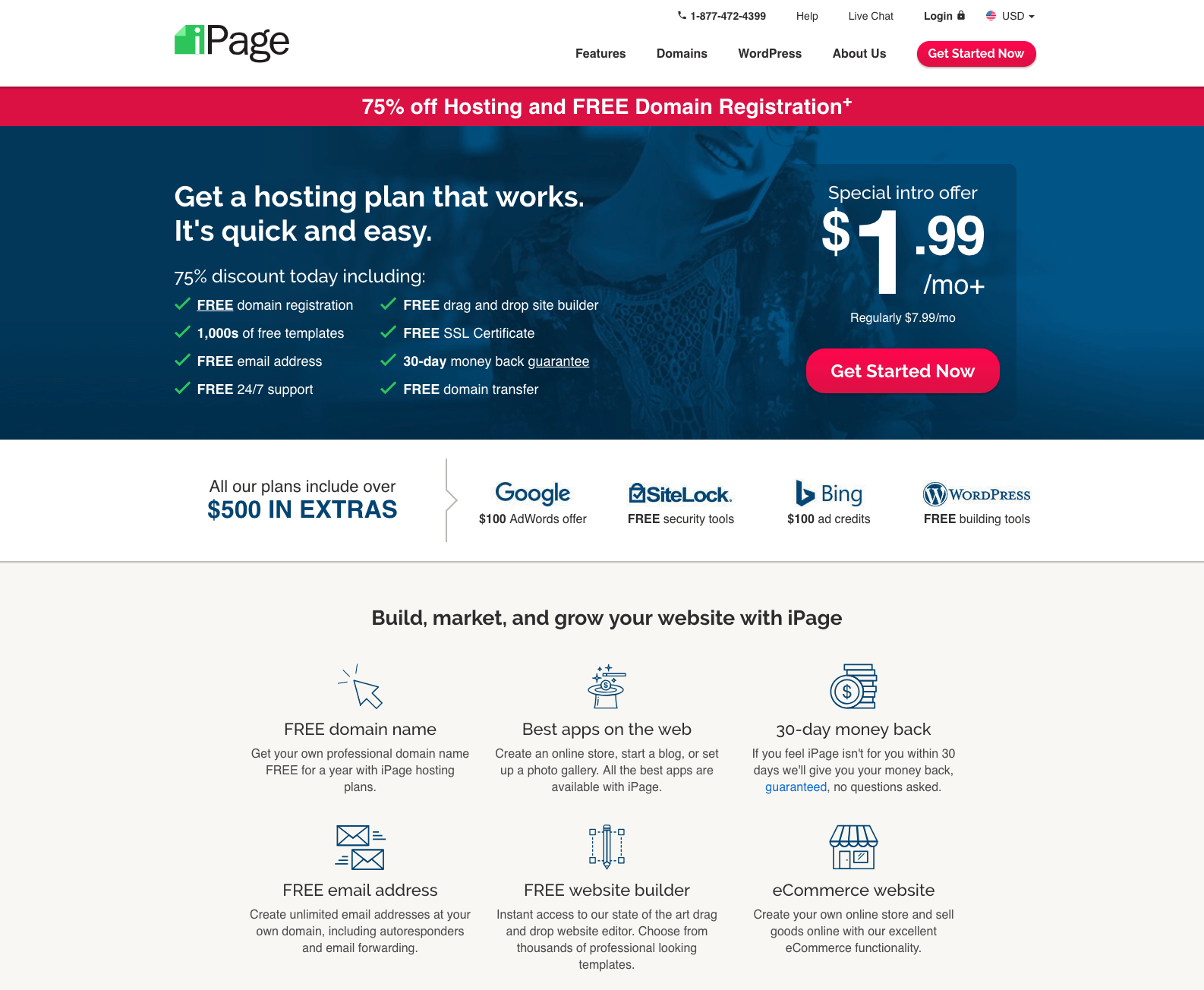 iPage Hosting Reviews: Dirt Cheap Hosting at $1 99/mo - August 2019