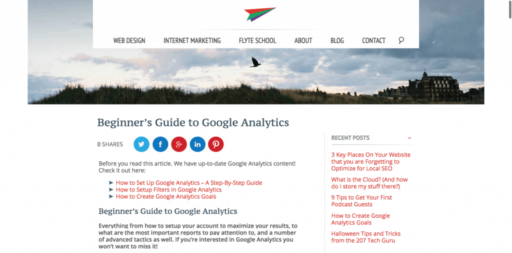 TakeFlyte Analytics