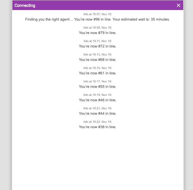 godaddy chat length