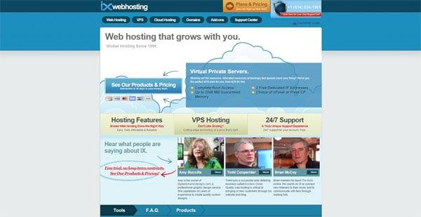 IX Web Hosting Reviews