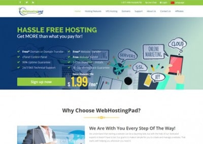WebHostingPad Reviews