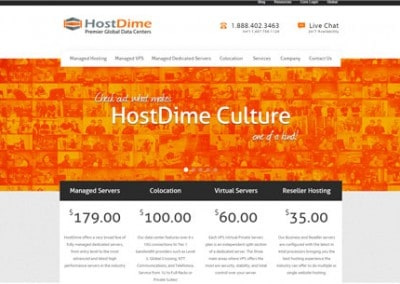 Hostdime Reviews