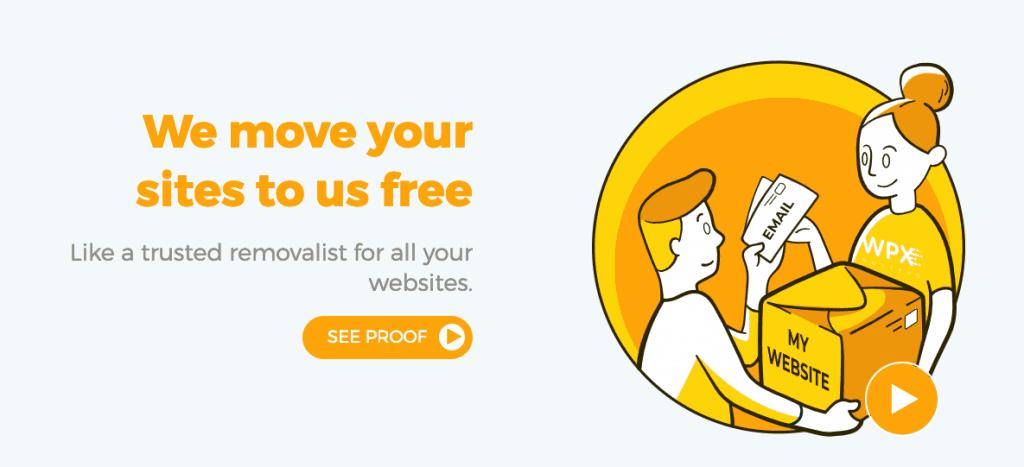 wpx hosting free migration