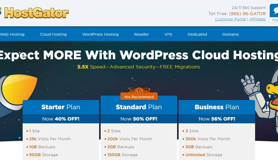 Hostgator Wordpress Cloud Reviews October 2018 Awesome Product