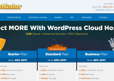 HostGator WordPress Cloud Reviews