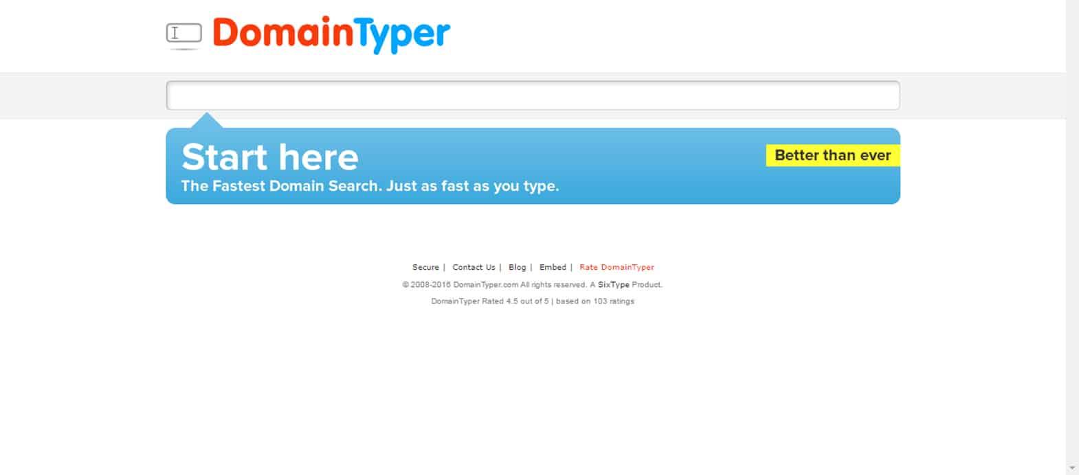 Domain TyperDomain Typer