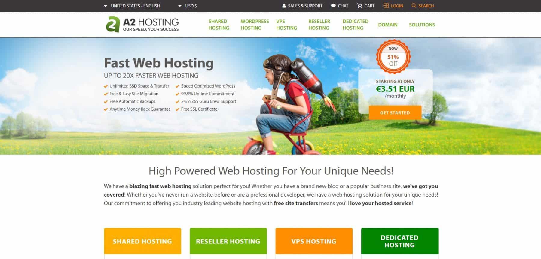 a2 hosting main july 19