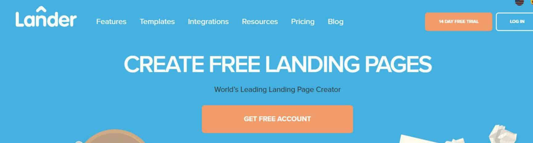 Lander Website Builder