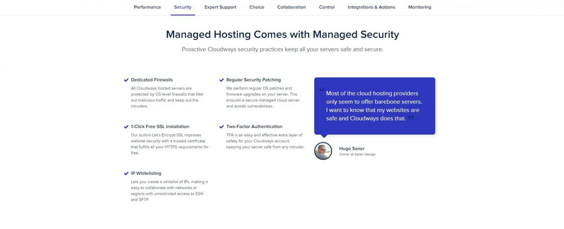 cloudways security