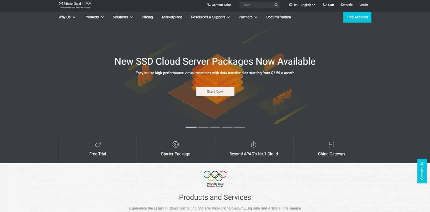 alibaba cloud vps hosting