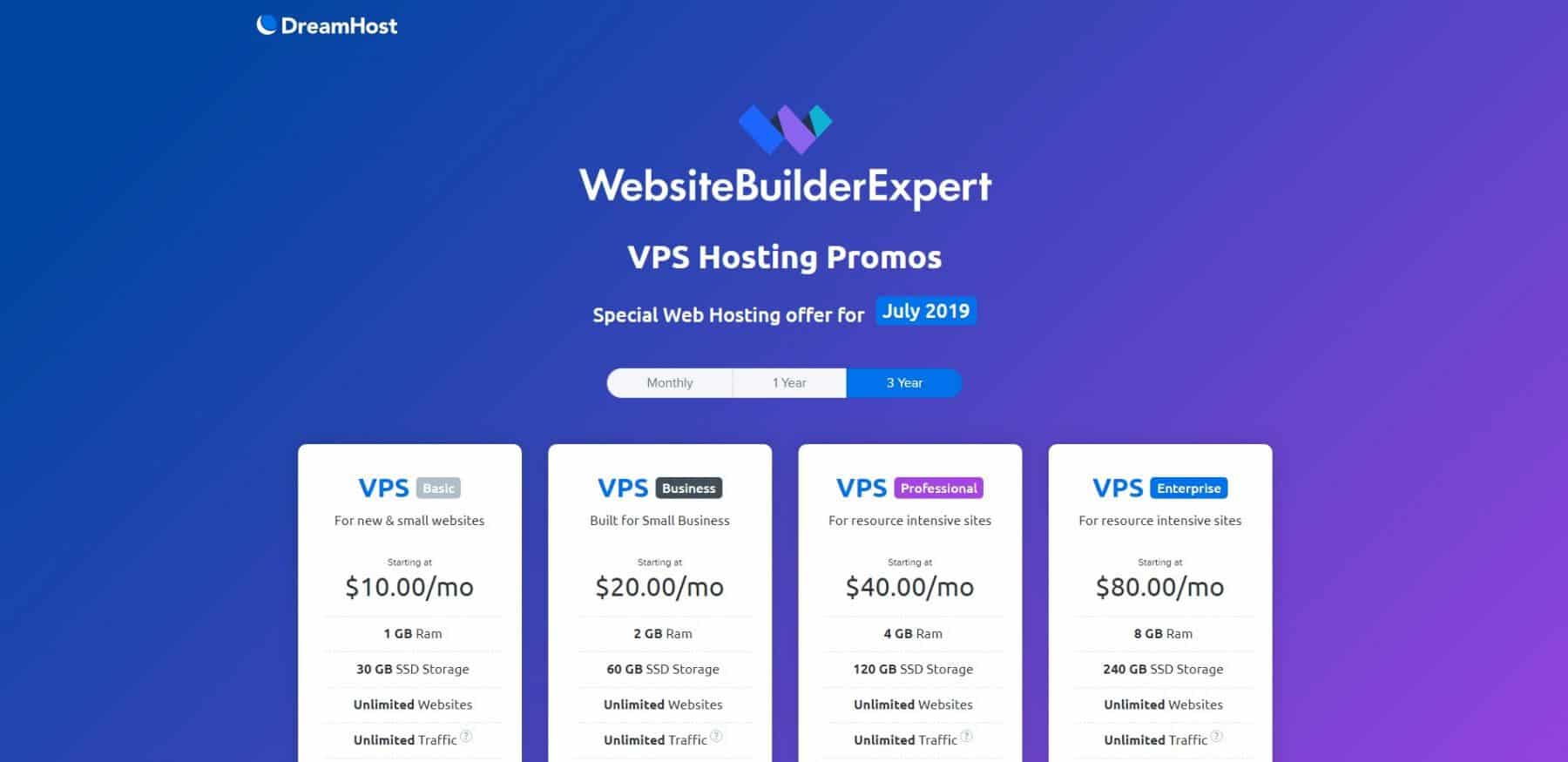 dreamhost vps hosting